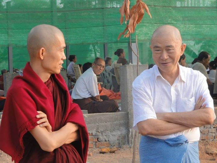 Thabarwa Natural Meditation Center Yangon Myanmar Sayadaw U Ottamasara and Saya U Kyaw San